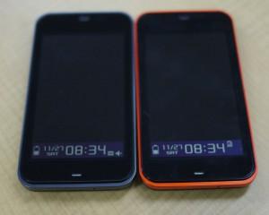 IS03 ブラック&オレンジ